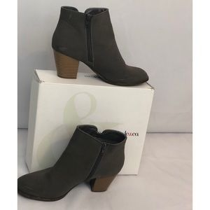 Grey Style &Co ankle boots